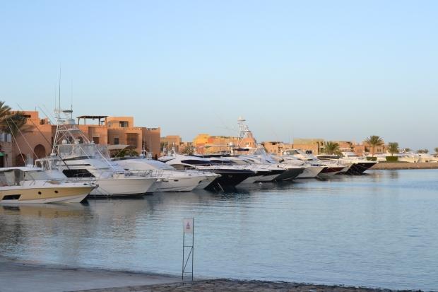 Abu-Tig Marina's entrance.