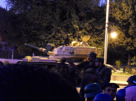 Presidential Guard's Tank.
