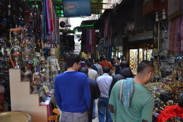 This was a relatively quiet day. At busier times, the alleys are filled with hundreds of people.