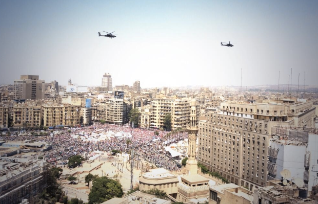 Tahrir Square on July 3, 2013