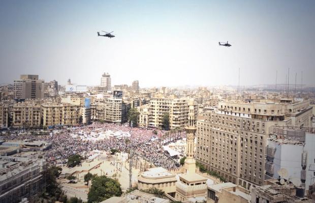 Tahrir Square on July 3, 2013