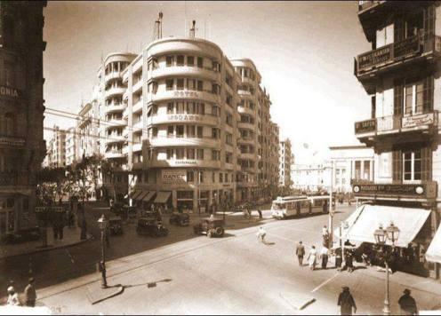 Fouad Street, Cairo in 1935
