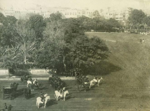 Abdeen Square in 1892