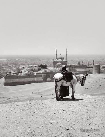 The view from Mokattam (Cairo) in 1920