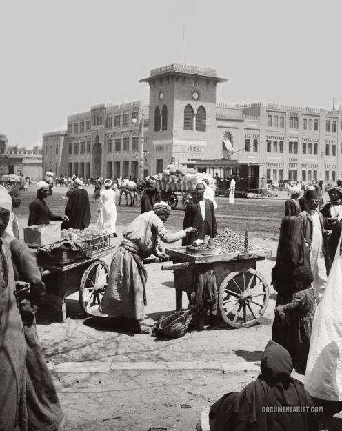 Cairo Railway Station 1920s