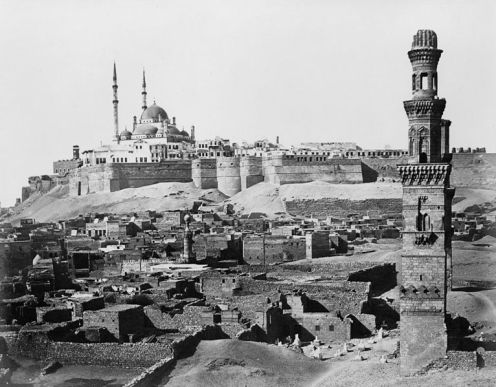 The Citadel in Cairo in 1870
