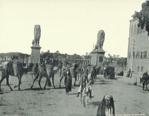 Qasr Al-Nil Bridge near Tahrir Square 1880-1890s