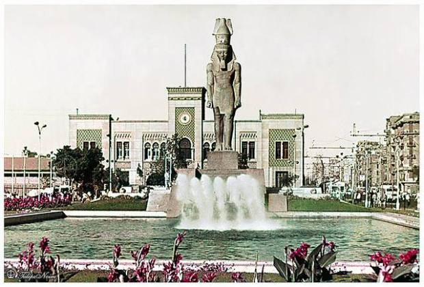 Ramsees Square in the 1960s