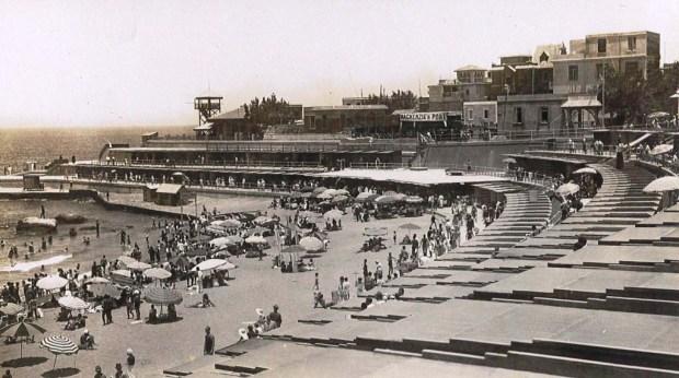 Alexandria's Stanley Beach in the 1950s