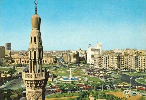 Tahrir Square in 1960