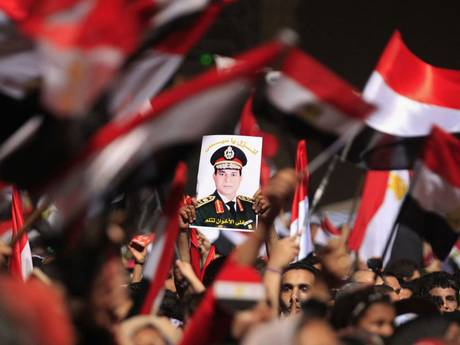 """Sisi mania"" started in June and July 2013, when shortly before and after Morsi was deposed."