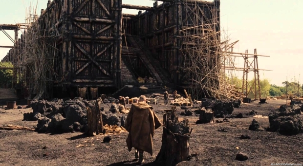 The Arc as depicted in the upcoming film starring Russell Crowe as Noah