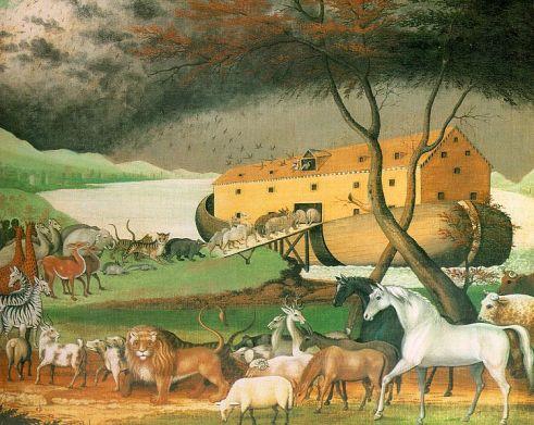 Noah's Ark, by Edward Hicks, 1846