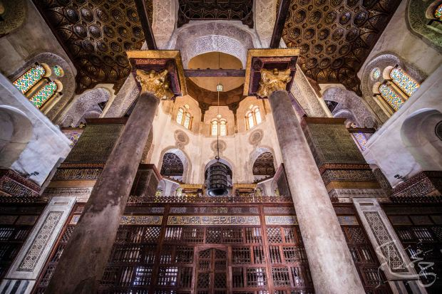 Sultan Qalawun Mosque in Old Cairo