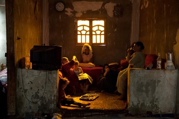 Qursaya, an island in Cairo, during the curfew. September 2013. Credit: Bieke Depoorter/Magnum Photos