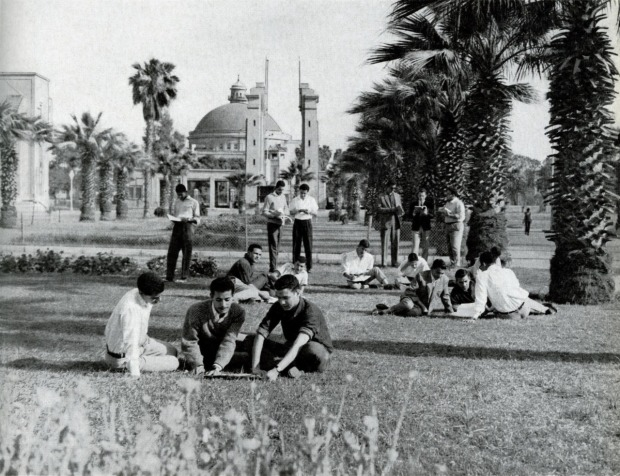 Cairo University in 1960