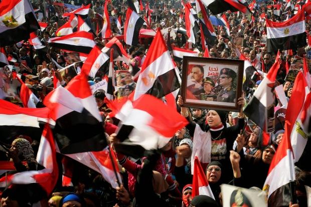 Sisi mania has swept Egypt since the ouster of Islamist President Mohammed Morsi  [Credit: Tara Todras-Whitehill for the New York Times]